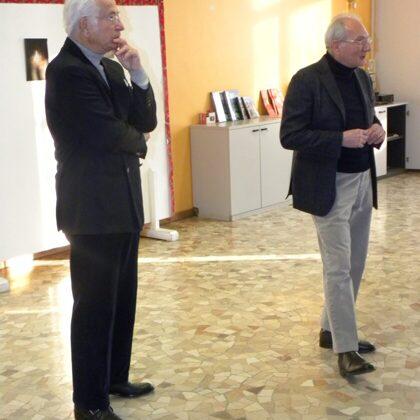 Il Dr. Szego e il Dr. Toschi