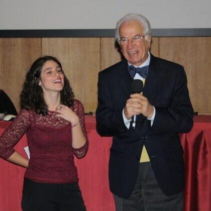 Caterina Toschi e il Dr. Szego