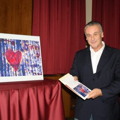 Giulio Benuzzi, vincitore del Premio DOSCAR 2014 per l'arte