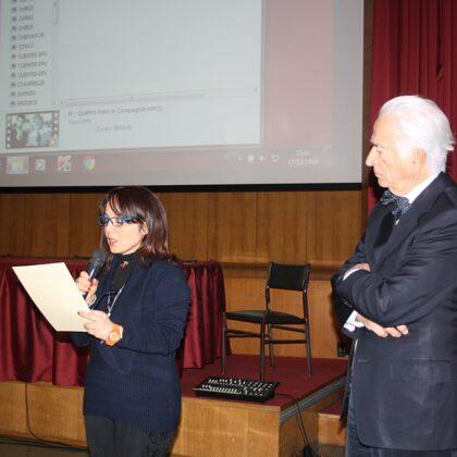 Eufemia Griffo, vicnitrice del Premio DOSCAR per la poesia