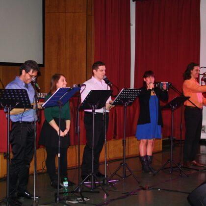 """Il gruppo """"Le voci del Musical"""""""