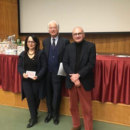 1° Premio DOSCAR poesia - Eufemia Griffo con il Dr. Szego e il Dr. Toschi