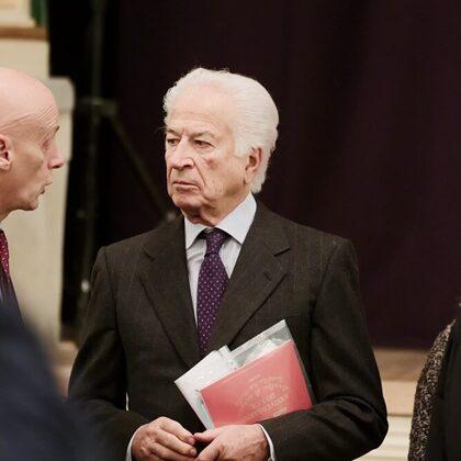 Il Presidente Szego e Marco Salmoiraghi, Direttore Generale dell'ASST Santi Paolo e Carlo