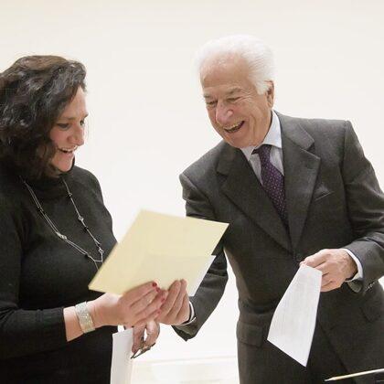 Premio DOSCAR Sezione Poesia assegnato a Marina Pedrini con la poesia Colori Esangui