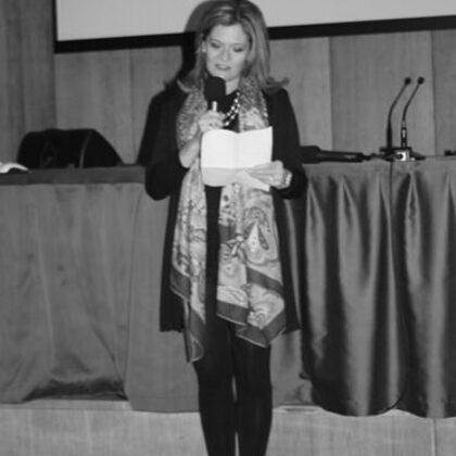 Maria Pia Perucca Orfei, vincitrice del Premio DOSCAR per la poesia