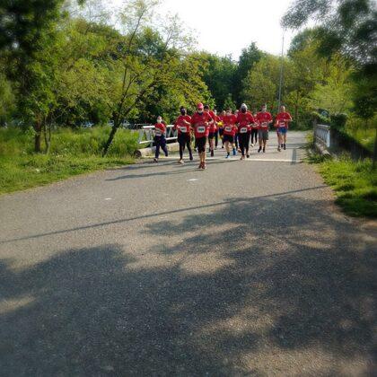 Il nostro fantastico gruppo di runner al Montestella