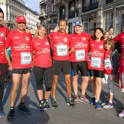 Il nostro gruppo runner alla Deejayten di Milano 2018