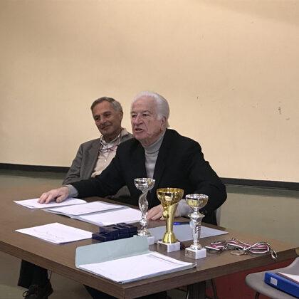 Il Presidente E. Szego e il Vice Presidente A. Majno