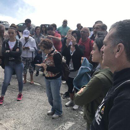 In visita al Sacrario militare del Monte Grappa