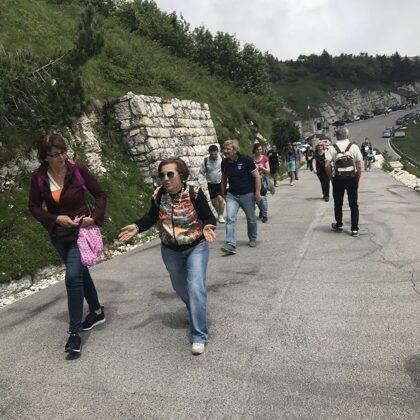 In cammino sul Monte Grappa