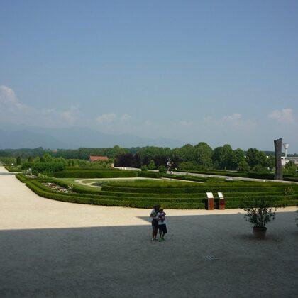 Gli splendidi giardini della Reggia