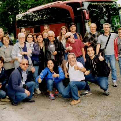 I volontari DOSCA e il personale del SIMT